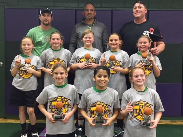 4th Grade Girls City Champs - Team Dyer