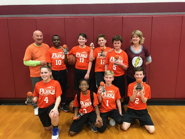 6th Grade Boys City Champs - Team Mandeville