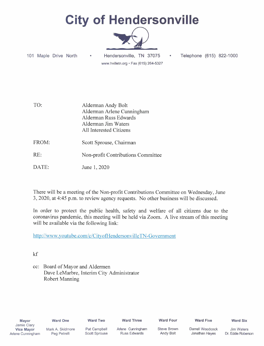 Non-profit_Contributions_Committee_Meeting_Notice
