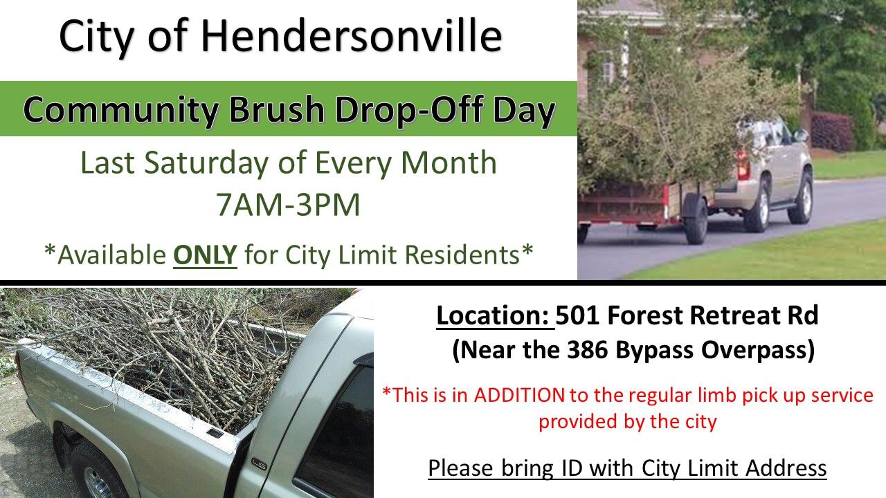 community limb disposal flyer